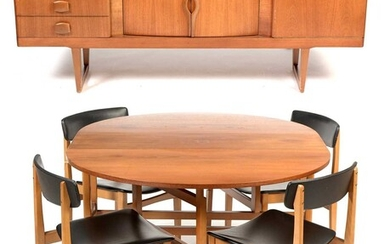Teak dining room suite circa 1970