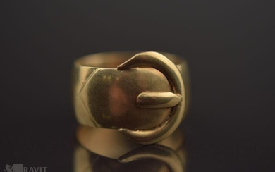 Victorian Gold Buckle Band
