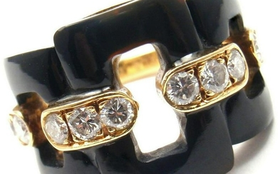 Vintage VAN CLEEF & ARPELS 18k Yellow Gold Diamond