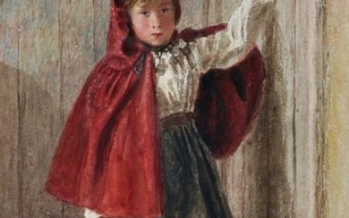 "William Henry Hunt (1790-1864) British. ""Girl with"