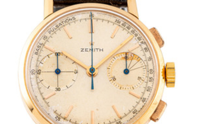 ZENITH, GH 171, CHRONOGRAPH, PINK GOLD
