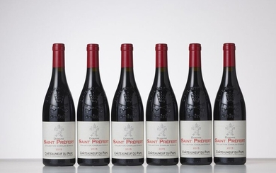 6 Bottles CHÂTEAUNEUF-DU-PAPE COLLECTION CHARLES GIRAUD Red