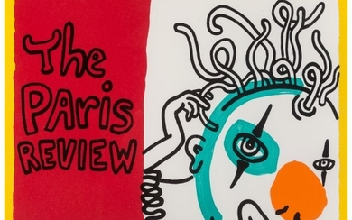 65033: Keith Haring (1958-1990) The Paris Review, 1989