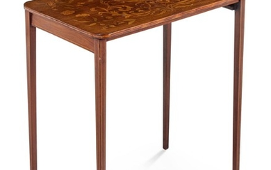 A Continental Marquetry Occasional Table