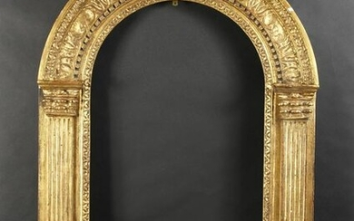 A Fine Quality 18th Century Arch Top Tabernacle Frame
