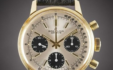 """A GENTLEMAN'S GOLD PLATED BREITLING """"LONG PLAYING"""""""