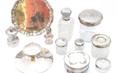 A large selection of silver