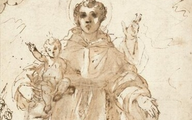 A saint with the Christ Child