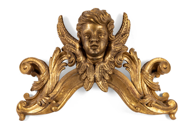 An Italian Carved Giltwood Ornament