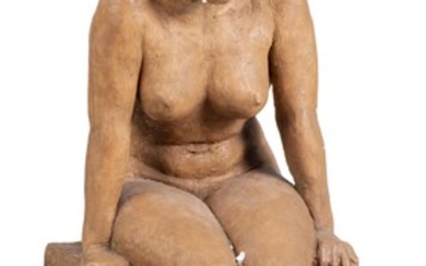 """Anonyme, """"Femme assise"""""""