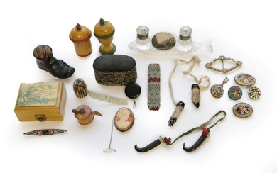 Assorted 19th Century and Later Sewing Accessories and Other Items,...