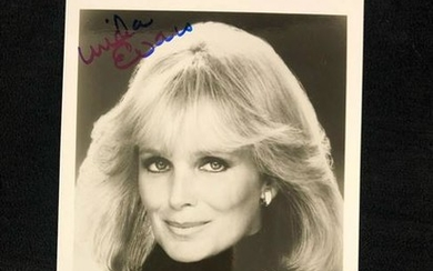 Autographed Photo Signed by Linda Evans, Actress