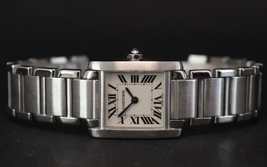 Cartier - tank Francaise PM - NO RESERVE PRICE - 2384 - Women - 2000-2010