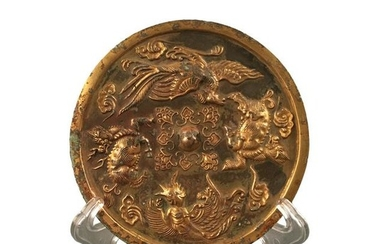 Chinese Gilt Bronze