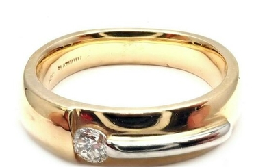 Cornelis Hollander 14k Yellow Gold Platinum Diamond
