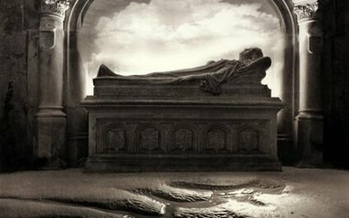 JERRY UELSMANN - Untitled (Tomb), 1988 - Signed