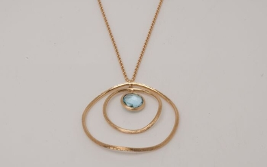 Marco Bicego - 18 kt. Yellow gold - Necklace Topaz