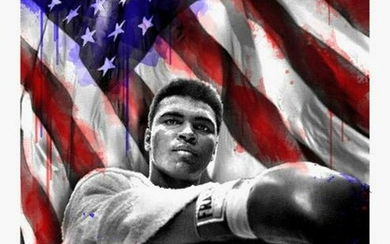 Mr. Brainwash - American Hero (Ali)