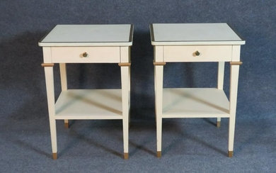 PAIR DIRECTOIRE STYLE END TABLES
