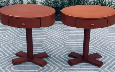 Pair of Italian Modern Side Tables