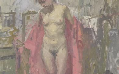 Peter Kuhfeld (b. 1952), A female nude