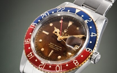 ROLEX OYSTER PERPETUAL GMT-MASTER REF. 6542, 1958 CIRCA