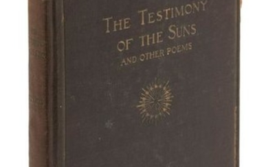 Sterling's 1st book inscribed by Jack London