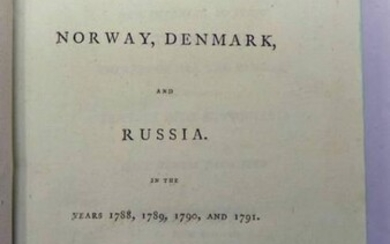 TRAVELS INTO NORWAY, DENMARK AND RUSSIA IN THE YEARS...