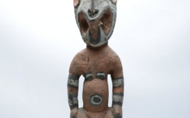 Tribal Carved Timber Figure (H56cm)