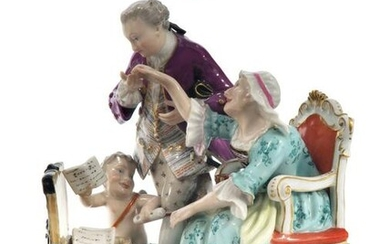 19th C. Meissen Figural Group