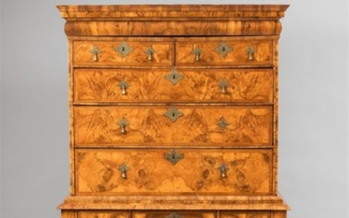 An English inalid chest-on-stand