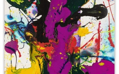 COMING OF THE VIOLET, Sam Francis
