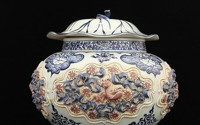 Chinese Youligong Porcelain Jar