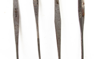 Early American Wrought Iron and Brass Utensils