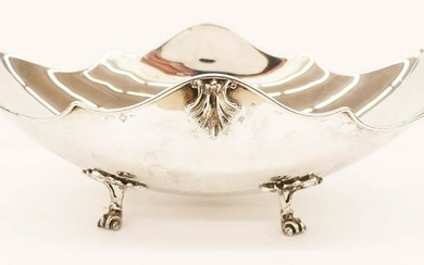 Italian Argento 800 Silver Footed Center Bowl