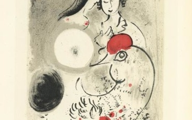 "Marc Chagall lithograph poster ""Kunsthaus Zurich"""
