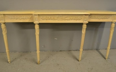 PAINT DECORATED LXVI STYLE CONSOLE