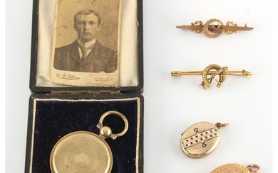Property of a deceased estate - three late 19th / early 20th...