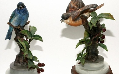 ROYAL WORCESTER, DOROTHY DOUGHTY FIGURINES, 2 PCS