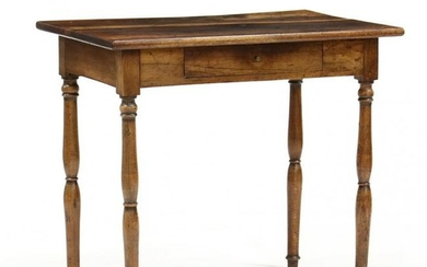 Southern Walnut One Drawer Work Table