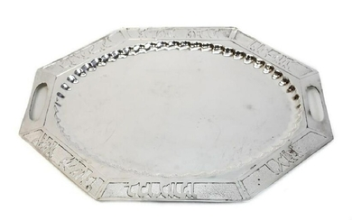 Sterling Silver Bread Tray