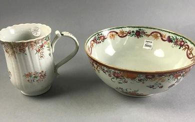 18thC China Trade Bowl and Mug