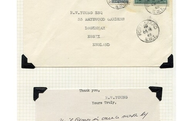1950's-60's collection of covers from the Canadian Arctic mo...