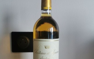 2001 Chateau Yquem - Sauternes 1er Grand Cru Classé - 1 Bottle (0.75L)