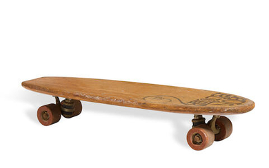 "A ""Bun Buster"" skateboard by Cooley"