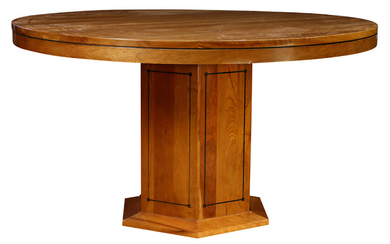 A Stickley (Audi) Prarie Style dining table