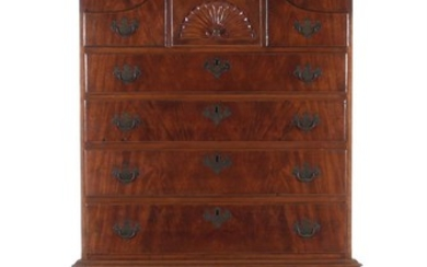 American mahogany highboy