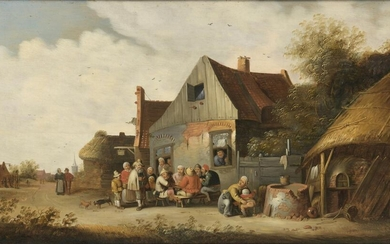 Attributed to Cornelis MAHU (1613-1689) Peasant