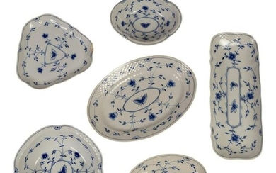 Bing & Grondahl Butterfly Serving Dish Bowls GROUP