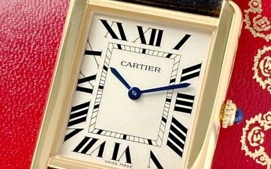 Cartier - Tank Solo - Ref. W5200004/2742 - Men - 2014